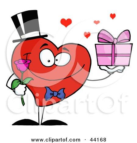 450x470 Romantic Clipart Small Heart