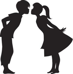 297x300 Romantic Kiss Clipart, Explore Pictures