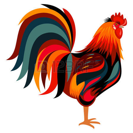 450x450 Rooster Clip Art Amp Rooster Clipart Images