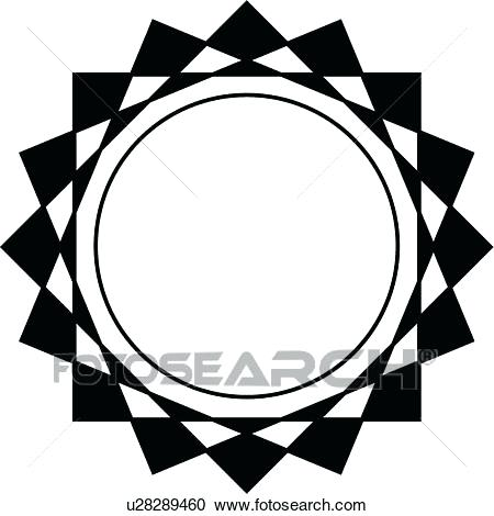 450x470 Nautical Clipart Of A Black And White Nautical Anchor And Rope 2