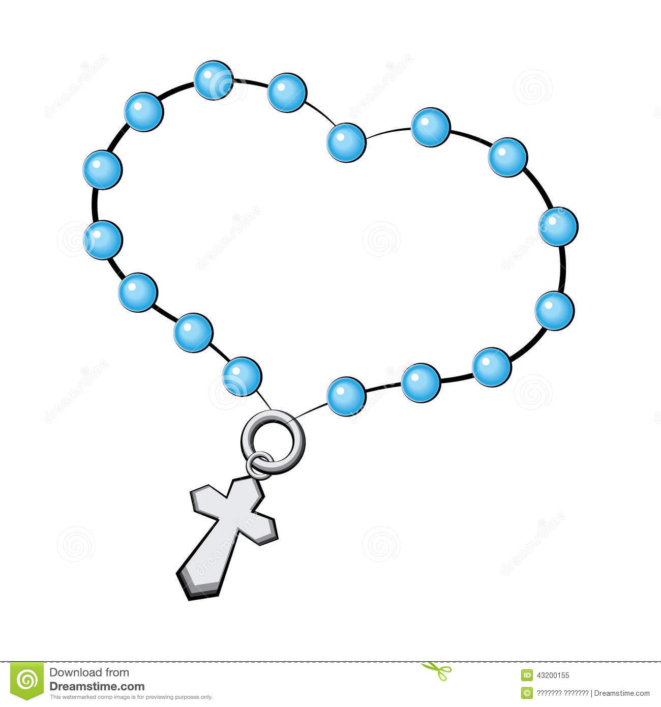 1300x1390 Rosary Cross Clipart