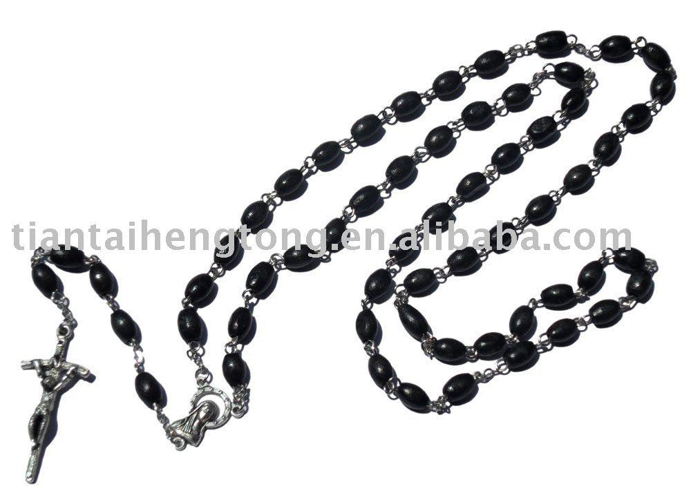 1000x724 Wooden Bead Rosary Jewelery Chain Rosary Box Alloy Cross Rosary