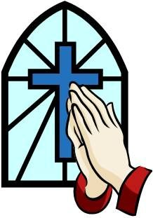 218x311 Clipart Cross With Prayer Hands And Sun