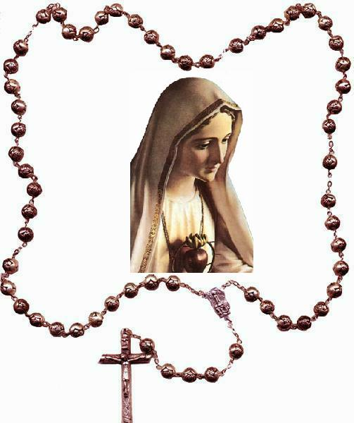 503x600 Our Lady Of The Rosary Clipart Image