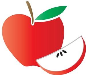300x259 Apple Fruit Clipart, Explore Pictures