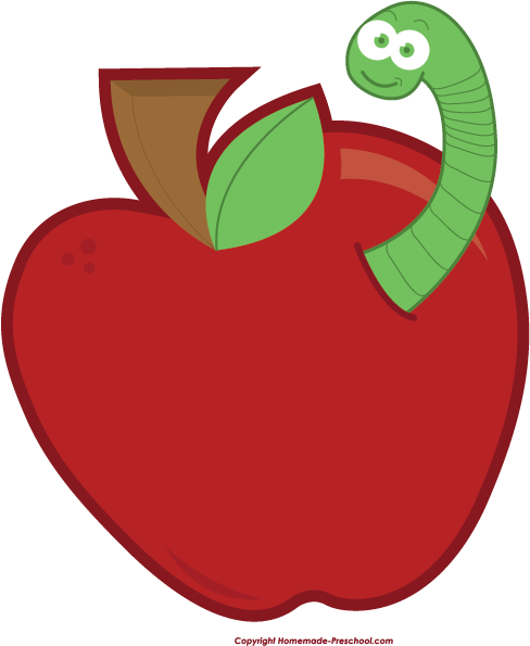 488x595 Free Apple Clipart
