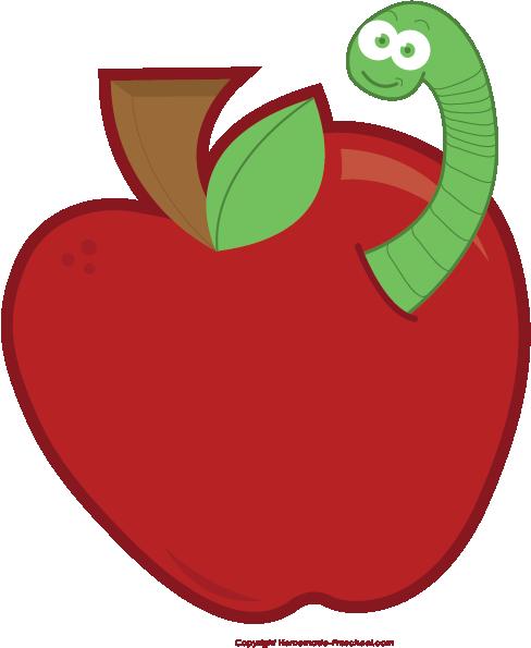488x595 Free Apple Clipart