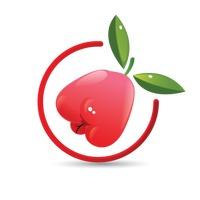 200x200 Rose Apple Fruit Fruits Geometric Geometrics Healthy Eating Design