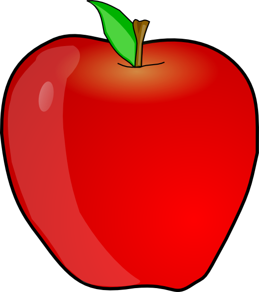 528x596 Another Apple Clip Art