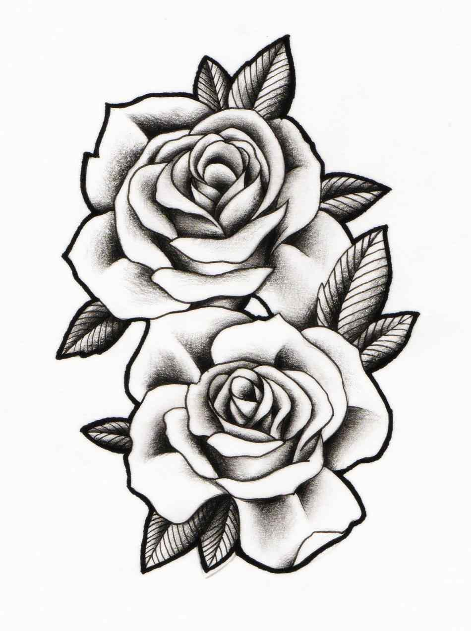 950x1272 Rose Tattoo Designs Tattoos More Belt Outline By
