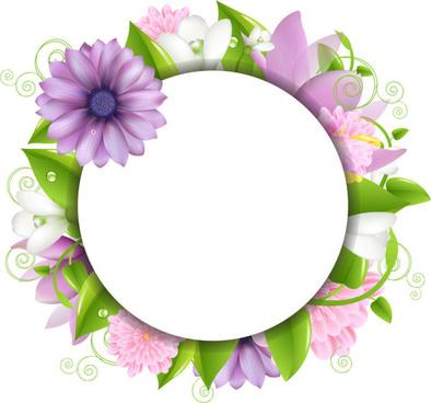 394x368 Flower Border Clip Art Free Vector Download (214,034 Free Vector