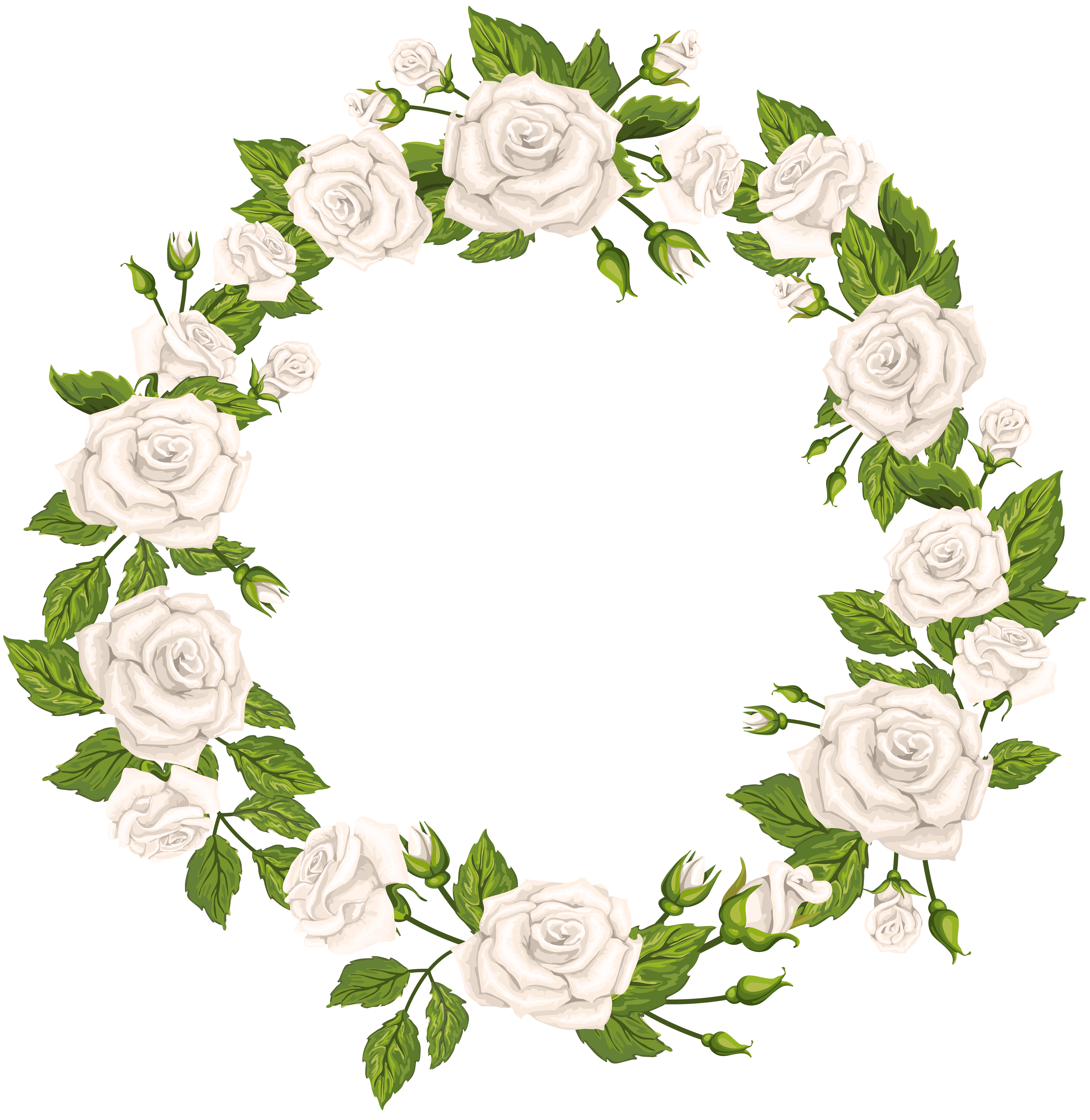 4868x5000 Roses Border White Png Clip Artu200b Gallery Yopriceville