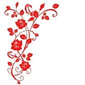 168x168 Border Clipart Rose