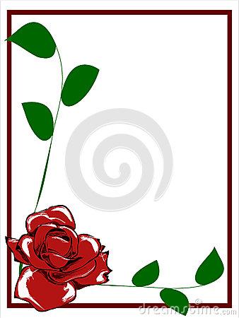 338x450 Yellow Rose Border Clip Art Clipart Panda