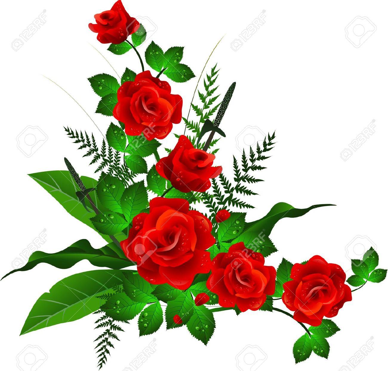 1300x1243 Clip Art Borders Flowers Rose