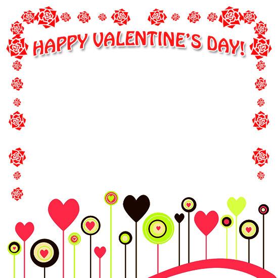 550x550 Free Valentine's Day Borders