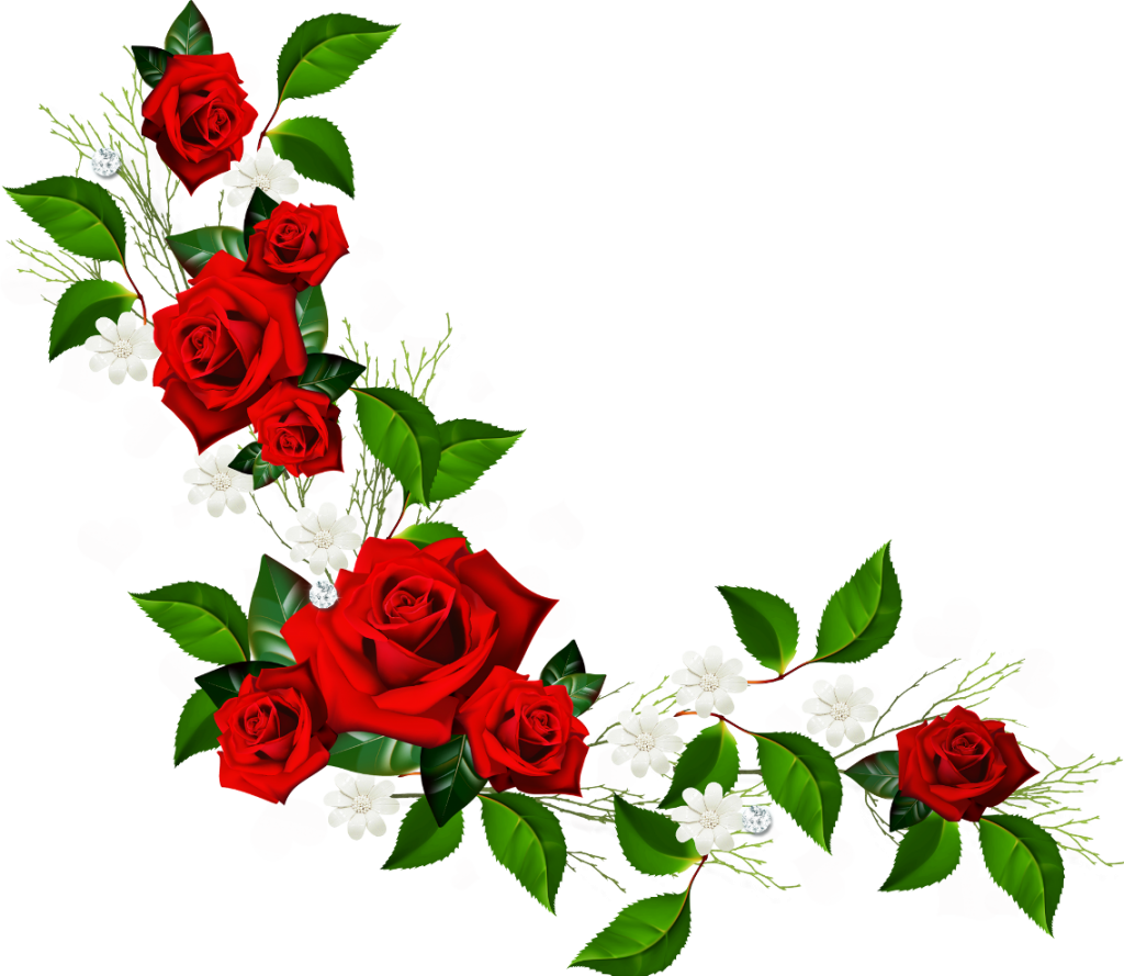 1024x889 Pink Flower Clipart Borders Flower Rose