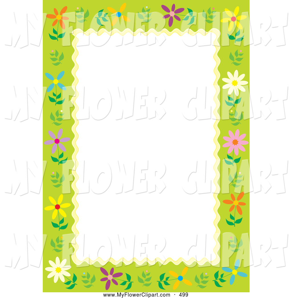 1024x1044 Royalty Free Floral Border Stock Flower Designs