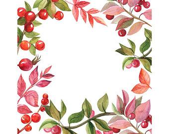 340x270 Watercolour Flower Frame Border Clip Art Graphic Design Png