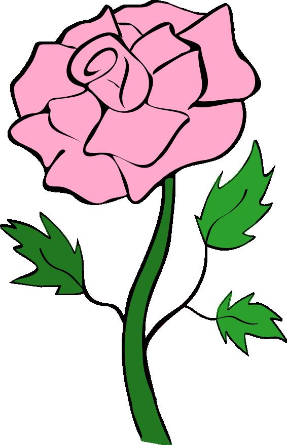 566x879 Roses Pink Rose Clip Art Noelle Nichols