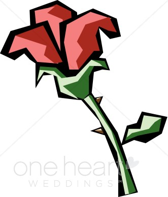 331x388 Cartoon Rose Clipart Rose Clipart