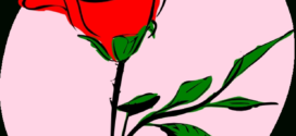 272x125 Image Of Clip Art Red Rose