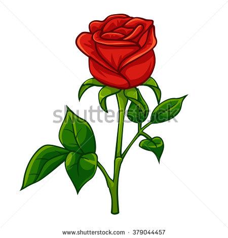 450x470 Red Rose Clip Art