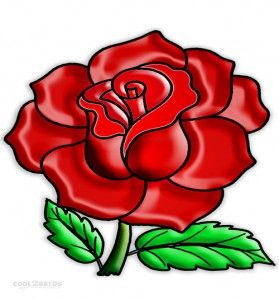 279x300 The Best Realistic Rose Drawing Ideas Tattoo
