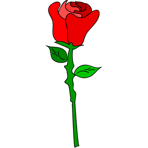 300x300 Freehand Rose Clipart, Cliparts Of Freehand Rose Free Download