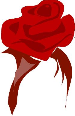 250x386 Red, Tribal, Flower, Cartoon, Heart, Love, Rose, Rosa