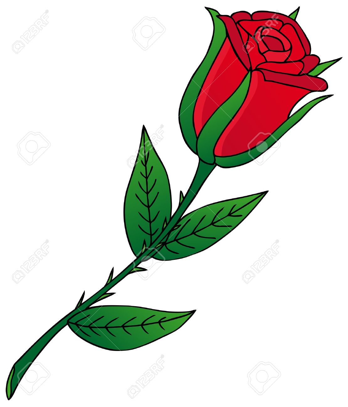1110x1300 Rose Flower Cartoon Images Amp Stock Pictures. Royalty Free Rose
