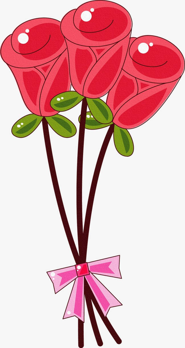 650x1222 Cartoon Rose, Rose, Plant, Cartoon Png Image For Free Download