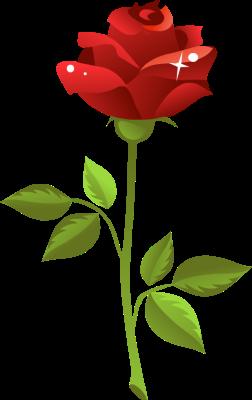 252x400 Top 76 Roses Clip Art