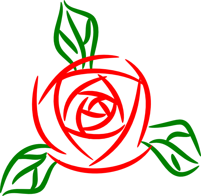 650x635 Free Rose Clipart Animations And Vectors