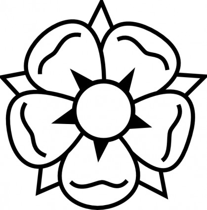 419x425 Flower Tattoo Clip Art Free Vector In Open Office Drawing Svg