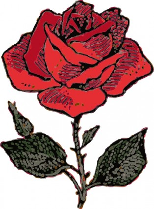 314x425 Roses Rose Clip Art Free Vector In Open Office Drawing Svg Svg