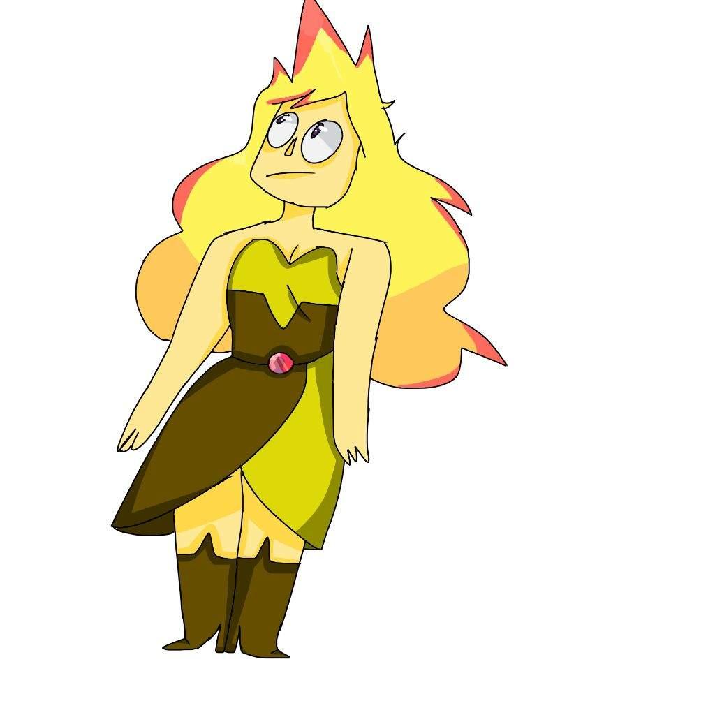 1024x1024 Rose Quartzyellow Diamond Crossover Art! Steven Universe Amino