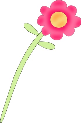 277x421 Pink Flower clipart flower transparent background