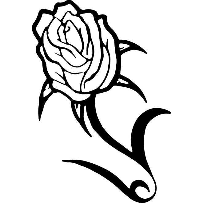 660x660 Rose Flower Vector Clip Art
