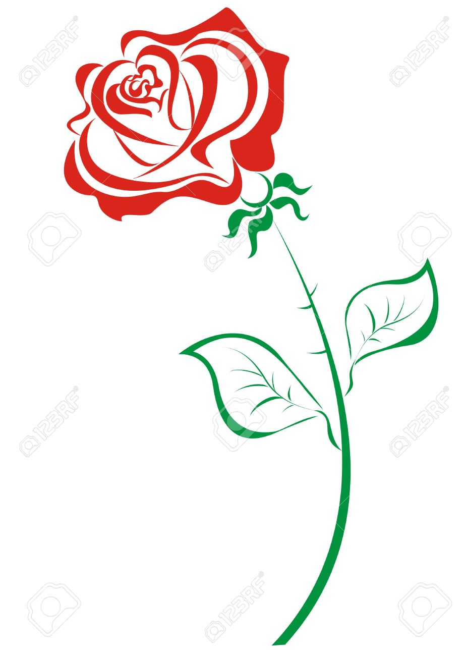 918x1300 White Rose Clipart Red Rose