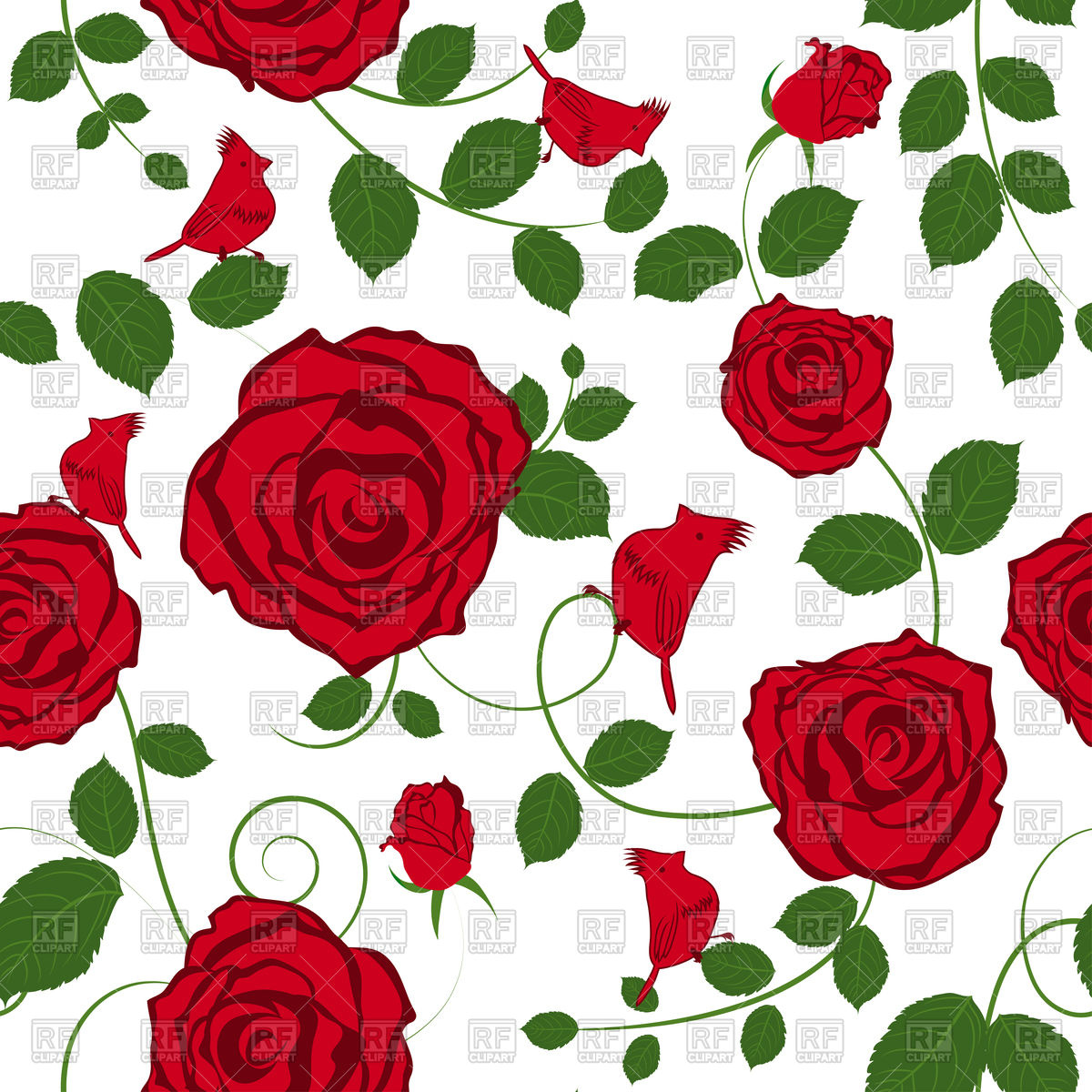 Rose Garden Clipart Free Download On Clipartmag