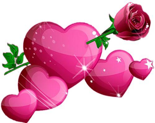 Rose Heart Clipart