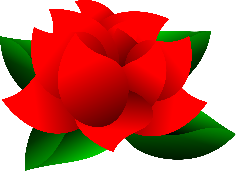 Rose Leaf Clip Art