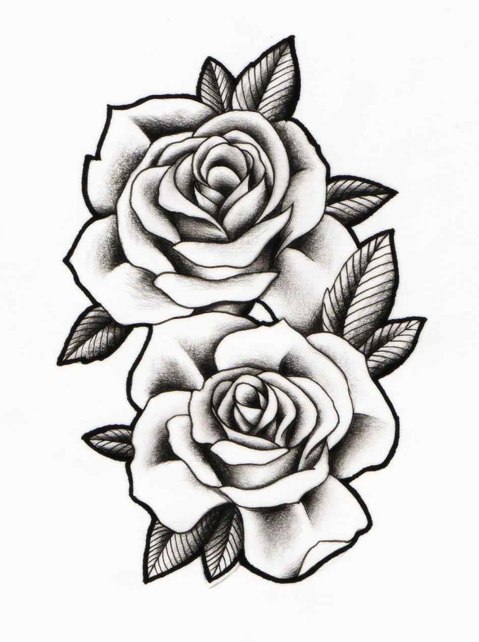 950x1272 Traditional Rose Line Drawing Rose Drawing Bubble Fairy Line By
