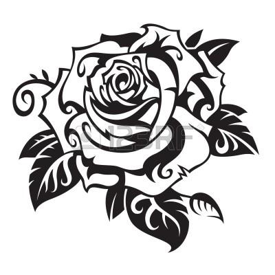 400x400 Stencil Rosa Tattoo Designs Stenciling, Art