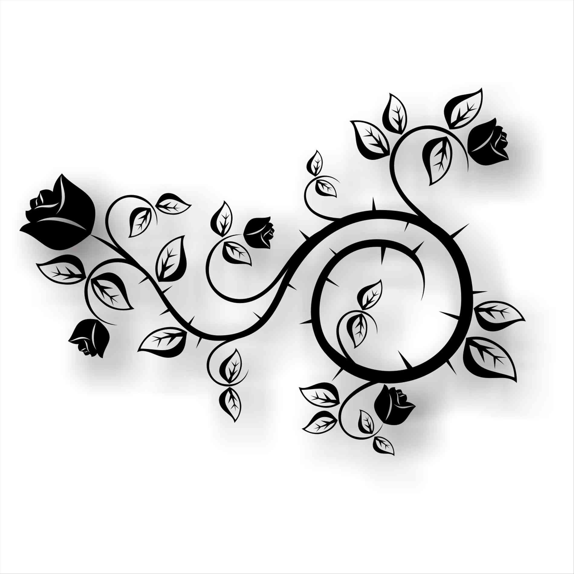1899x1899 Onlygfxcom Flower Black And White Free Icons Backgrounds Flower