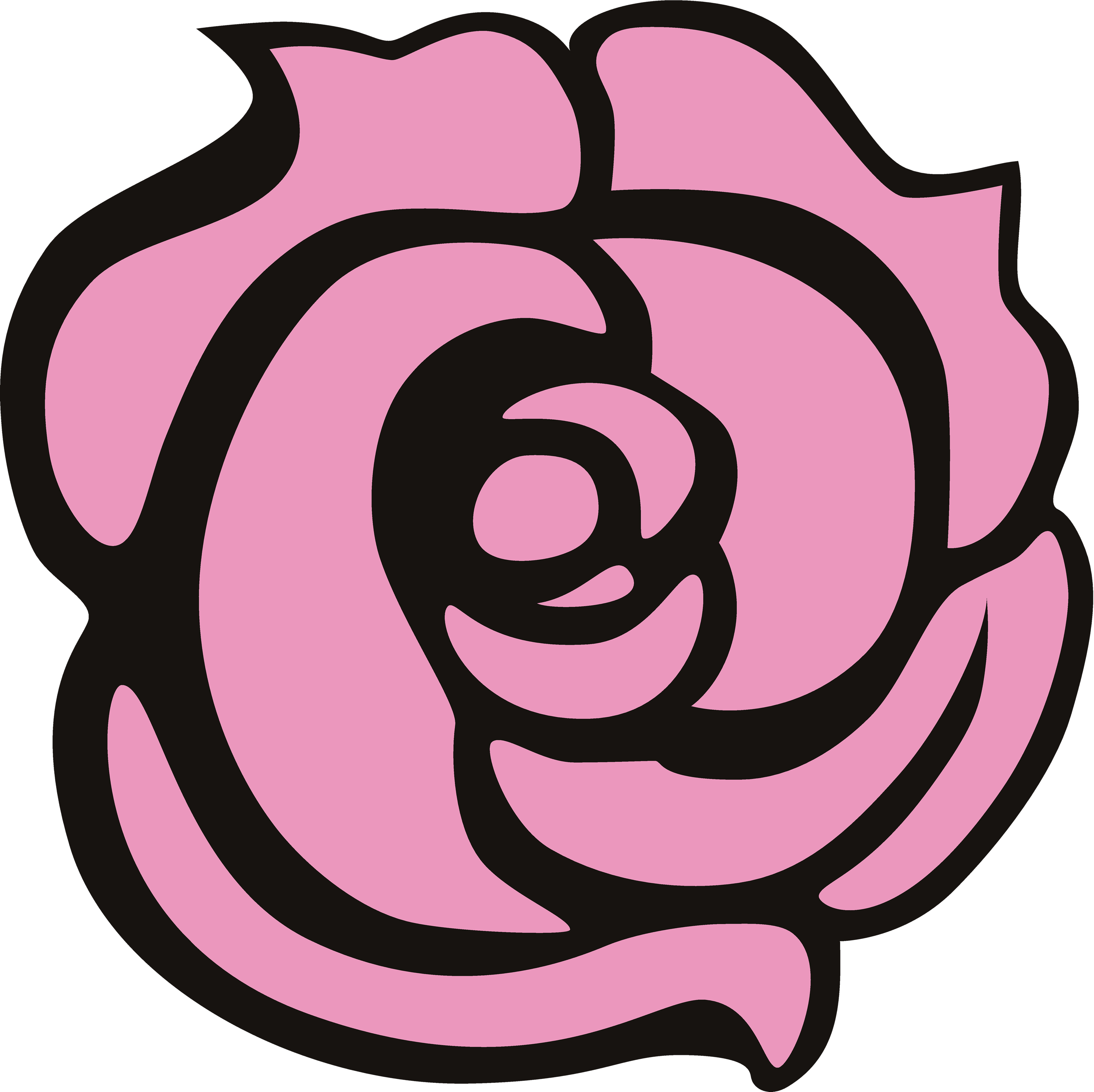 3000x2995 Rose Vector Png Cliparts