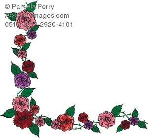 Rose With Thorns Clipart