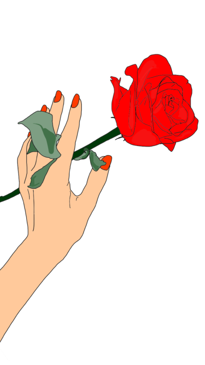 Rose With Thorns Clipart | Free download best Rose With ...