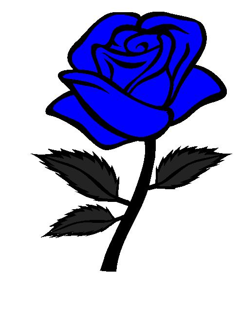 493x648 Blue Rose Clipart Cute Cartoon
